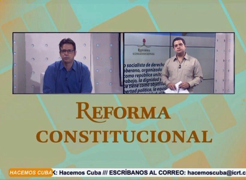 Resultado de imagen para cuba constitucion discusion en tv