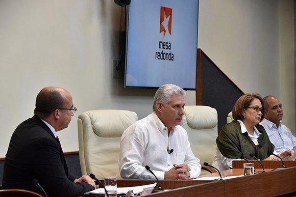 El Presidente de los Consejos de Estado y de Ministros Miguel Díaz – Canel  Bermúdez comparecerá este miércoles en la Mesa Redonda c87ba1ca60dbc